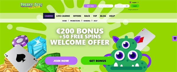 FreakyAces casino review