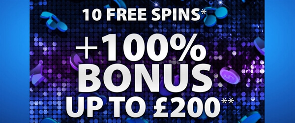 Bgo Casino 10 Free Spins Uk 100 Up To 200