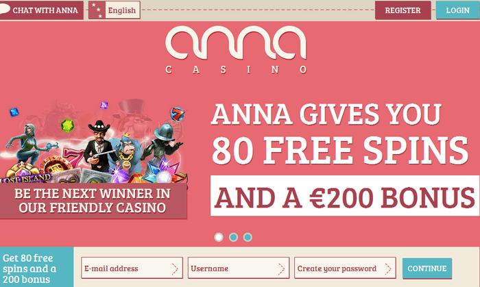 Anna Casino Bonus
