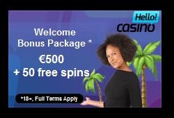 Hello Casino Bonus Code