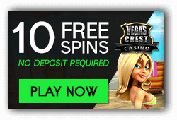 Vegas Crest No Deposit Bonus Codes 2021
