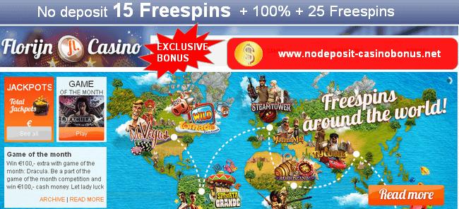 florijn casino bonus code