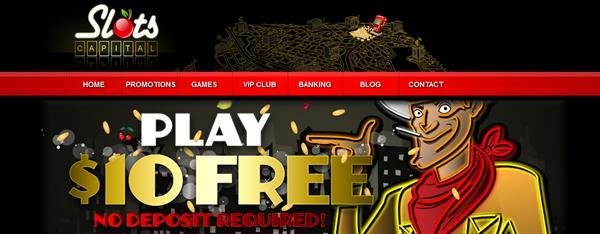 Slots Capital Casino Exclusive No Deposit 10 Free Chip